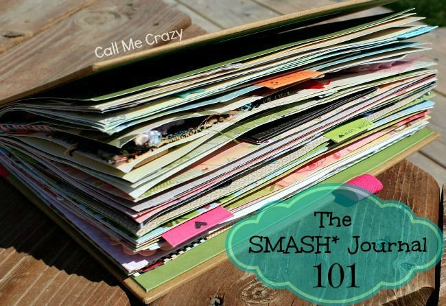 smash journaling ~ This blogger shares her enthusiasm for smash books and the first one she completed is the one I have so I couldn't resist.