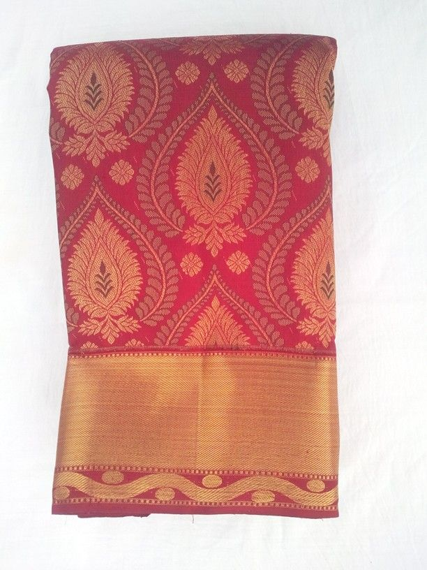 Kanchipuram handloom wedding saree