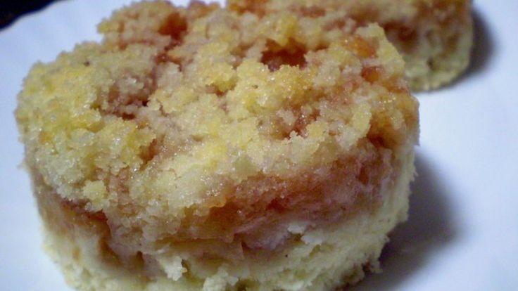 Hrnečkový vykrajovaný jablečný koláč