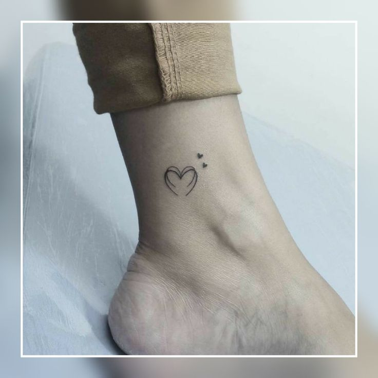 20+ Cute Tiny heart tattoo #tattoo #smalltattoo