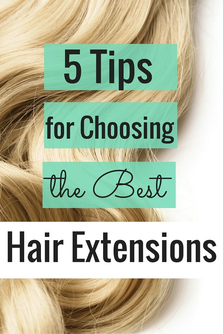 Hair Extensions Are Not A One Size Fits All Weve Got Five Tips On