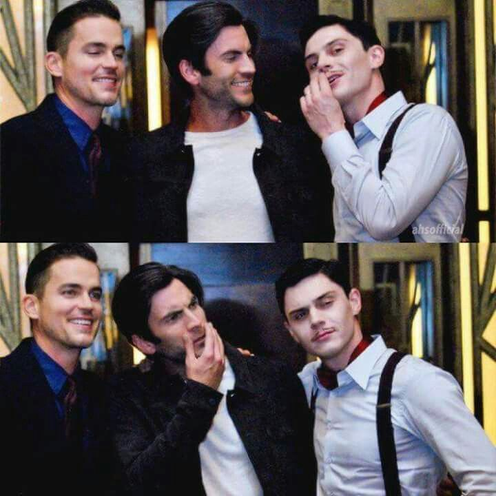 Matt Bomer, Wes Bentley & Evan Peters
