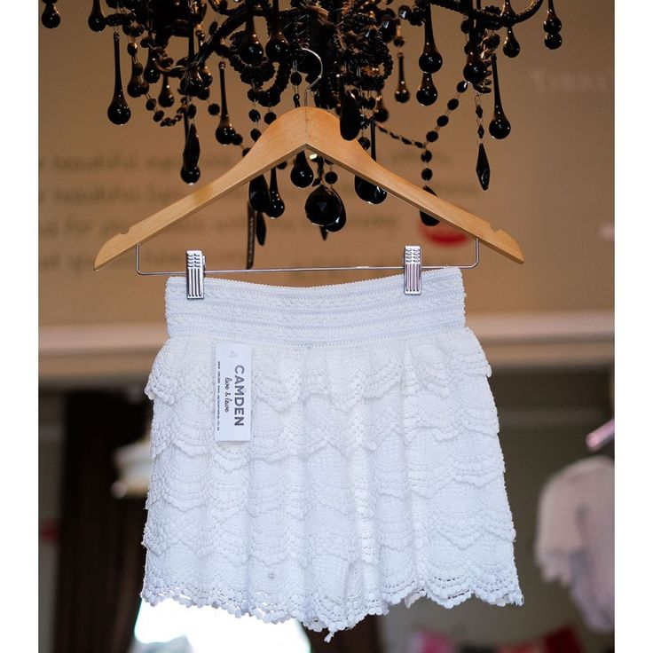 Crochet Shorts | White