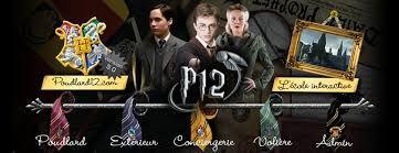 Poudlard12: l'école interactive