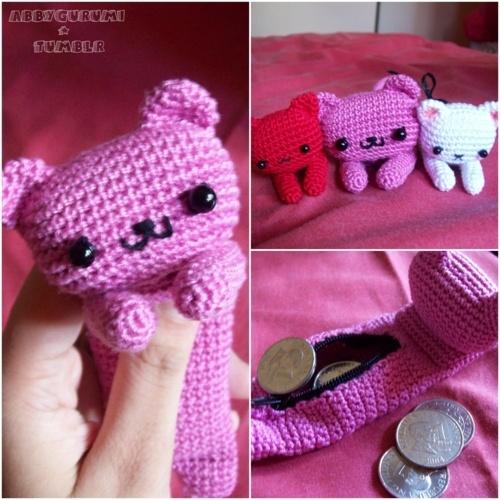 Kitty coin purse!
