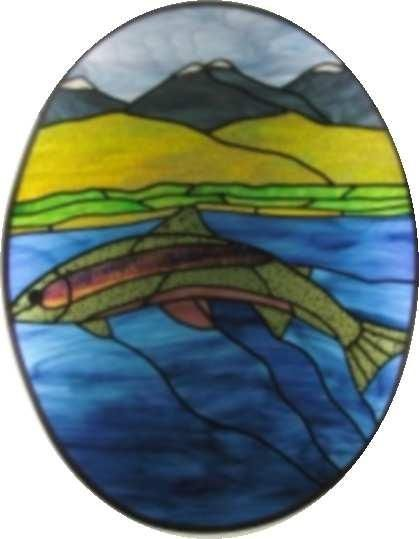 367 best images about stained glass fish on pinterest for Stained glass fish patterns