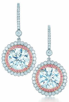 Nice Diamond Earrings Diamond and pink diamond earrings from the 2013 Tiffany & Co. Blue Book Coll... Check more at http://24shopping.tk/fashion-clothes/diamond-earrings-diamond-and-pink-diamond-earrings-from-the-2013-tiffany-co-blue-book-coll/