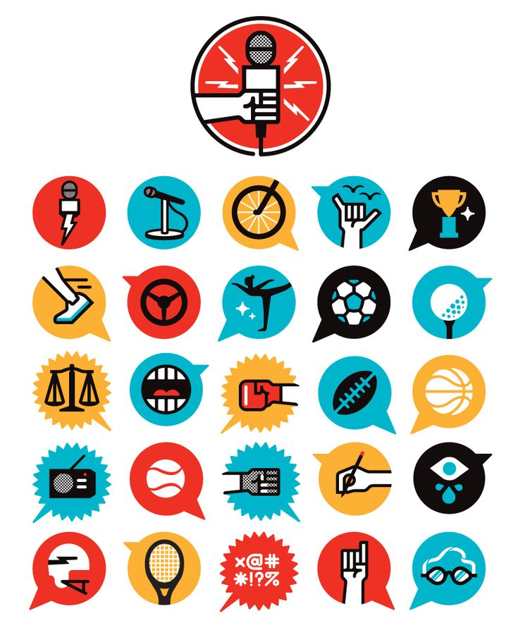 Flat Icons / Flat Design / Icons Design / Icons / Pictograms / Signs / For espn (matt lehaman) / Flat icons / #flat #design #icons