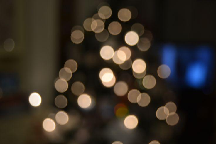 Bokeh | Christmas tree | #photography