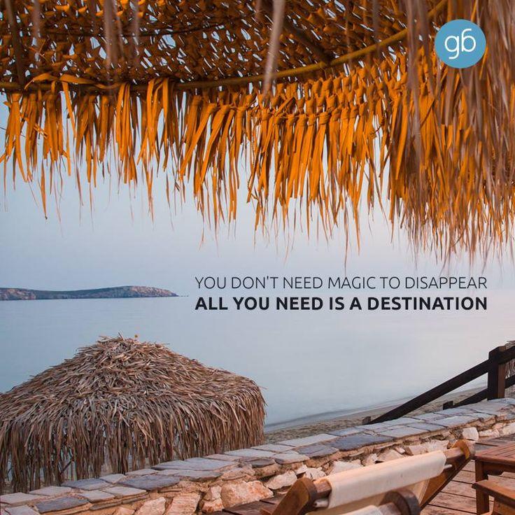 ... all you need is a destination www.goldenbeach.gr #goldenbeachhotel #goldenbeach #beach #paros #holidays #greece #hotel #summer #toparos