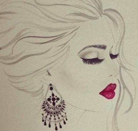 art for makeup room
