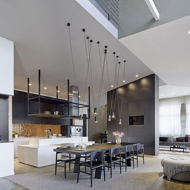 """Loft ESN by Ippolito Fleitz Group Identity Architects. Photo from Home Adore"