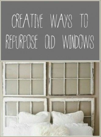 Don't throw out those old windows yet! There's so much you can do with them! Take a look at my favorite repurpose ideas: Hooks and Message Center. I think this could be great as a kid station. Each...
