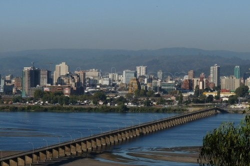 El puente viejo, Concepción Chile