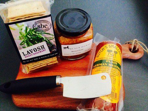 Plowman's Lunch Gift Hamper by Urban Providore - Australian Food products - Celebrate Australia Day! | The Little Distinctions