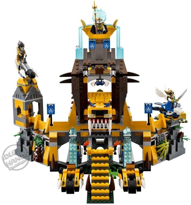 Color photo with lego legends chima 6024429 from 2016