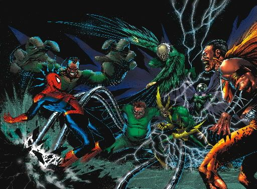 Sinister Six - Marvel Universe Wiki: The definitive online source for Marvel super hero bios.