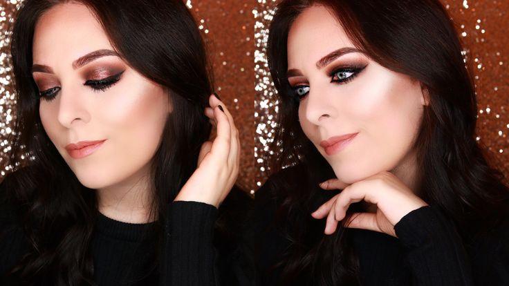 Dark dramatic makeup look Makeupgeek eye shadows Raayfaace https://youtu.be/vp3ZmstwHjQ
