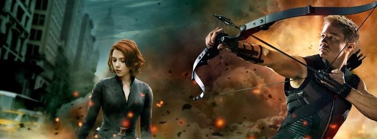 https://www.facebook.com/theavengers2012.movie: Movie Posters, Avengers, Black Widow Hawkeye, Super Heroes