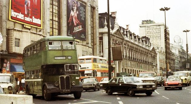 Restauradores Square at the 70's