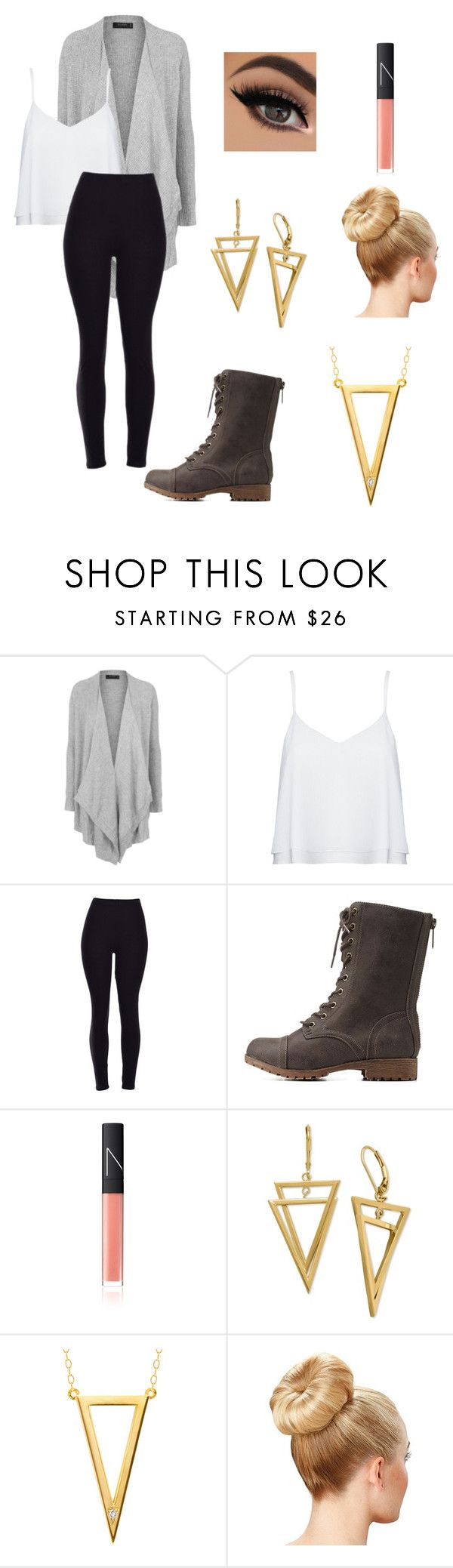 """Untitled #53"" by paigevjacobs on Polyvore featuring Topshop, Alice + Olivia, Charlotte Russe, NARS Cosmetics, Ella Poe, women's clothing, women, female, woman and misses"