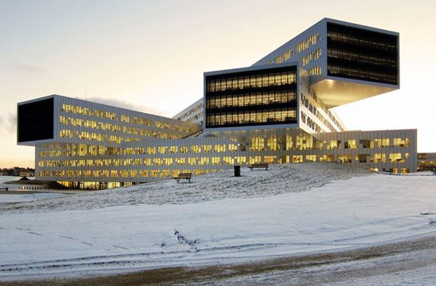 Las nuevas oficinas regionales e internacionales de Statoil en Fornebu, Noruega, ganaron en la categoría de Oficina