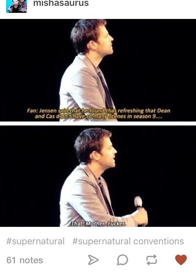 Gotta love Misha!