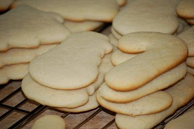 homemade sugar cookie recipe