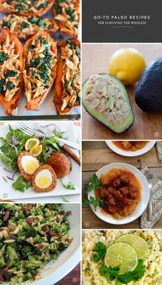 6 Go-To Paleo Recipes for Surviving the Whole30. #paleo #whole30