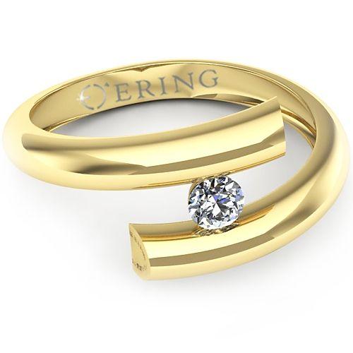 Inel logodna L09GDI Inel cu diamant