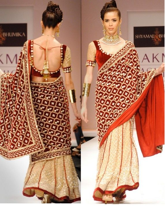 Shyamal and Bhumikas bridal Lahenga    designer saree bridal saree bollywood saree