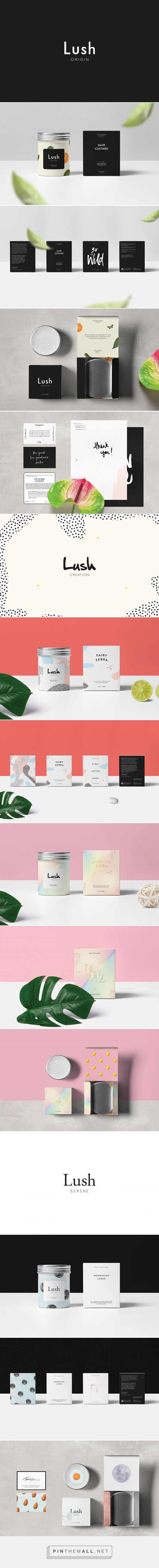 LUSH Bath and Body Branding and Packaging by Tom Jueris | Fivestar Branding Agency – Design and Branding Agency & Curated Inspiration Gallery