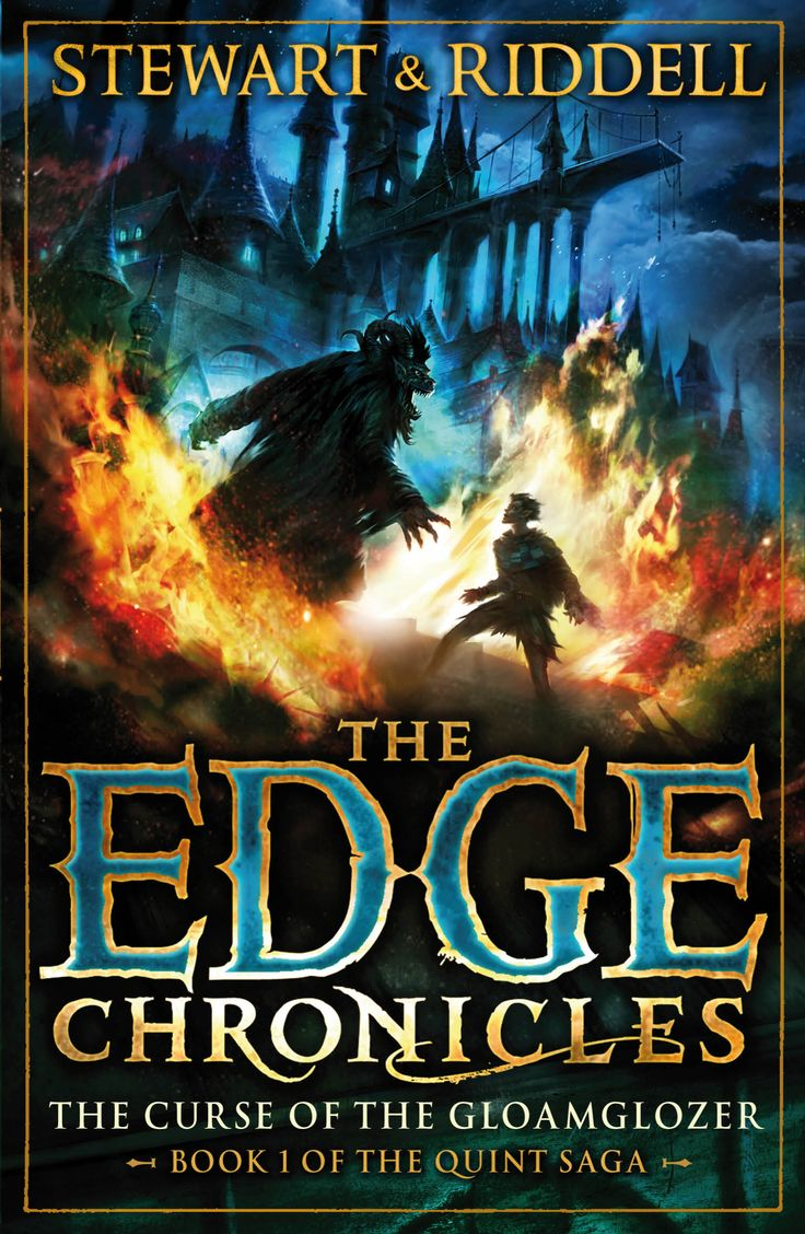 The Curse Of The Gloamglozer, Book 1 Of The Quint Saga #edgechronicles  #chirsriddell