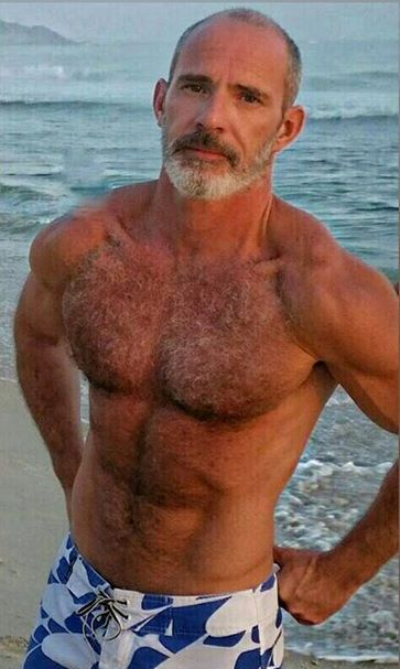 Hairy mature guys going at it