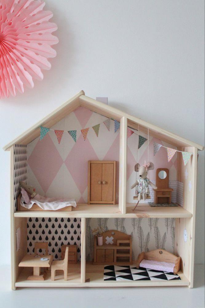 Pin Von Ma Ferre Auf Mini Casas Objetos Em Miniatura Diy Puppenhaus Mobel Puppenhaus Bauen Und Mausehaus