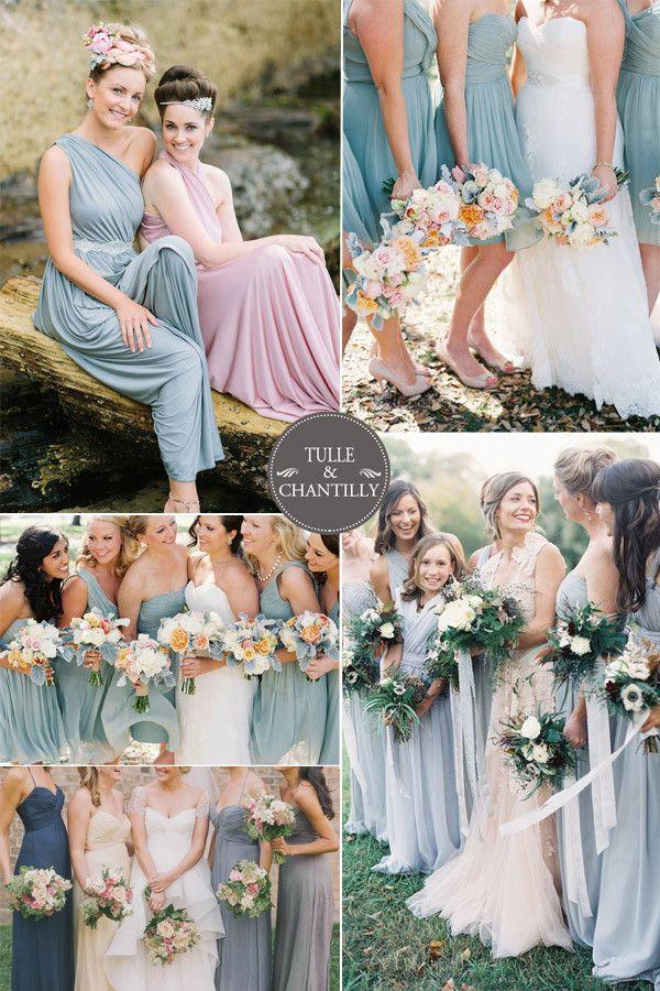 light blue aquamarine spring bridesmaid dresses 2015 trends http://www.jexshop.com/