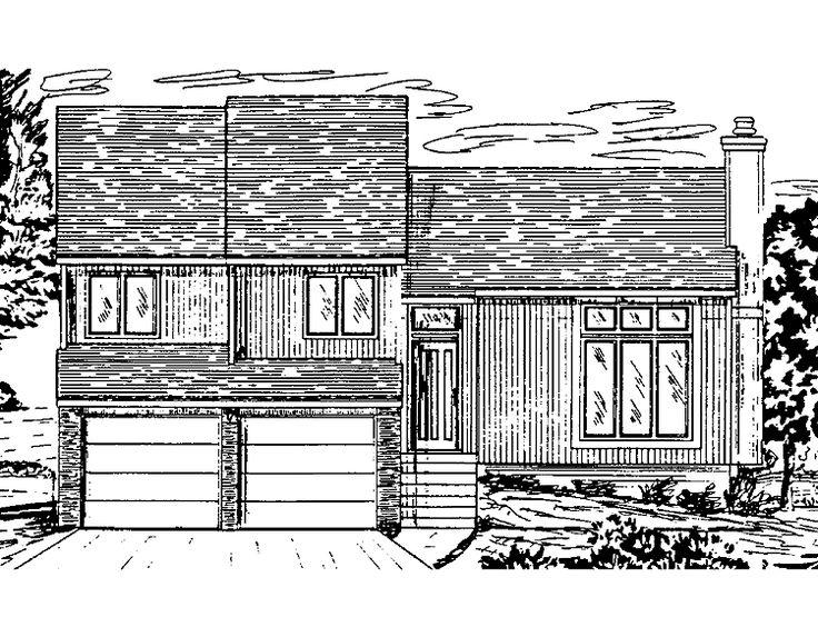 The 25+ Best Split Level House Plans Ideas On Pinterest | House Design  Plans, Design Floor Plans And Sims 4 Houses Layout