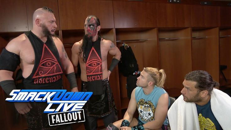 The Ascension have a match with The Bludgeon Brothers next week: SmackDown LIVE Fallout, Jan 2, 2018  ||  After Victor and Konner challenged Harper and Rowan to a rematch on Breezango's behalf, Tyler Breeze and Fandango return the favor. Get your first month of W... https://www.youtube.com/watch?v=XTbVEbzWjqQ