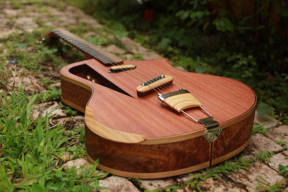 Electro acoustic guitar Handmade Luthier fanned by RauloGuitars, $1750.00
