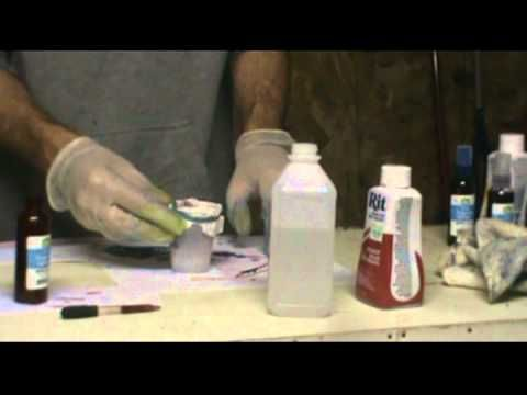 How to Make Your Own Alcohol Ink (CHEAP)!! - This is a very fascinating tutorial. There is also a document you can download with instructions.