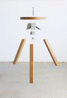 henry wilson self assemble stool: