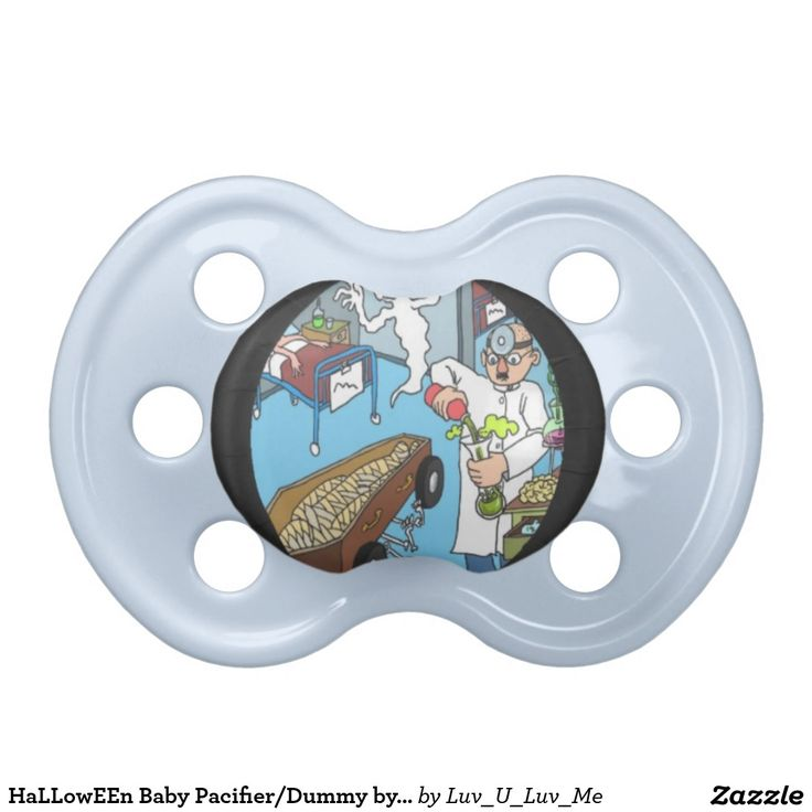 HaLLowEEn Baby Pacifier/Dummy by DAL