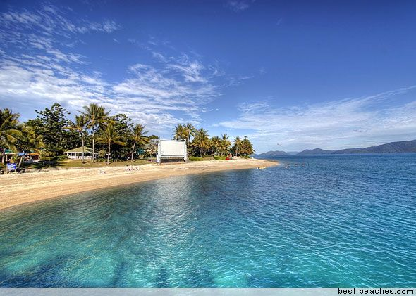 Airlie Beach...it's why Aussies find it hard to be impressed with a beach overseas