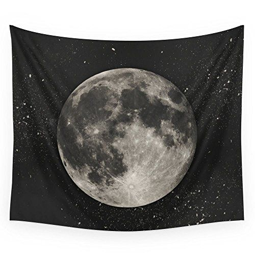 Society6 The Moon Sans Type Wall Tapestry Medium 68 x 80 -- Check out this great product.