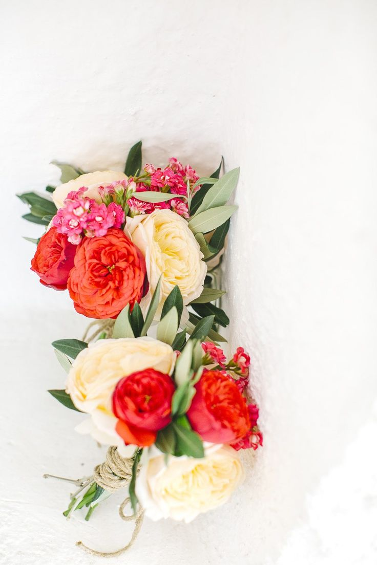 Go wild with colors at white wedding in Puglia, Italy