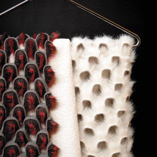 Furore by LAMA. Looks like scales. Love it.