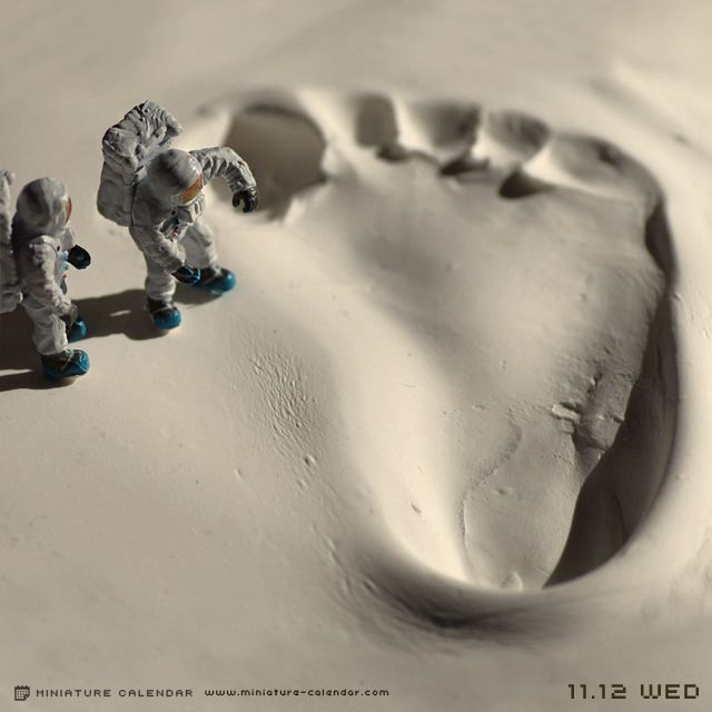 Wonder what could make a footprint that large?