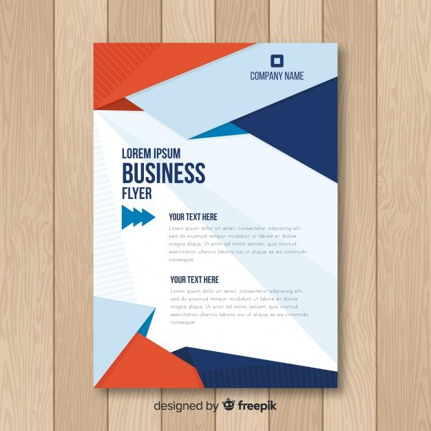 Download Modern Business Flyer Template With Flat Design For Free Flyer Template Flyer Business Flyer Templates