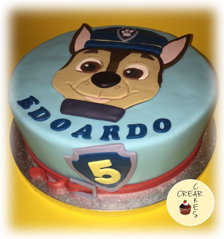 Paw patrol cake Chase cake