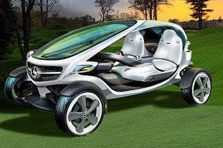 Mercedes cria carro de golfe futurista - Carros - iG